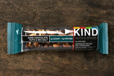 Thumb 400 kind dark chocolate nuts sea salt bar bar