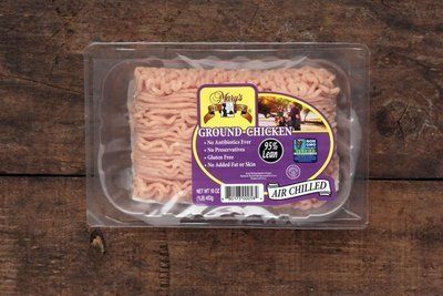 Thumb 400 mary s free range chicken ground chicken lb