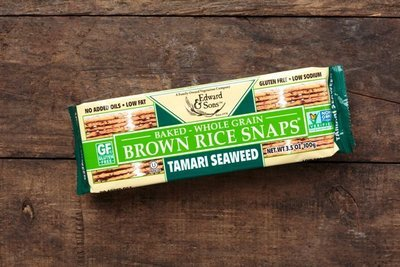 Thumb 400 edward sons trading company tamari seaweed brown rice snaps 3 5 oz