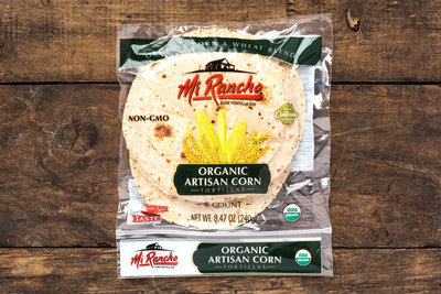 Thumb 400 mi rancho organic artisan corn wheat tortillas 8 47 oz
