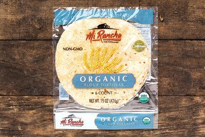 Thumb 400 mi rancho organic flour tortilla 15 oz